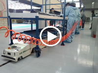 AGV在汽配厂搬运产品实例