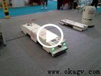 欧铠双向四驱AGV横移功能展示