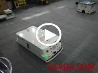 欧铠万向潜伏式AGV横移展示(高交会)