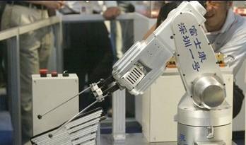 郭台铭的百万机器人