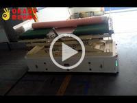 欧铠双向横移四驱背负举升AGV应用视频