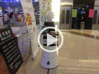 欧铠餐厅机器人应用视频