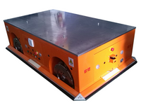 Heavy duty load transfer AGV