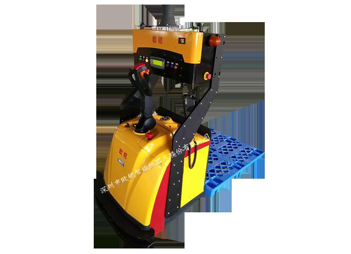 Laser Navigation Pallet Truck Agv Laser Guided Forklift