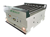 Belt and roller conveyor AGVs