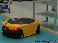 欧铠激光AGV应用