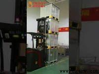 Laser guided forklift AGV