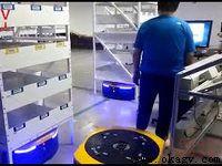 ELFIN warehouse logistics robot