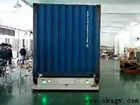 Heavy duty container moving max 8 tons load mobile industrial robot