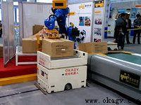 Roller conveyor AGV