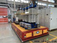 欧铠重大型全向背负横移10吨AGV