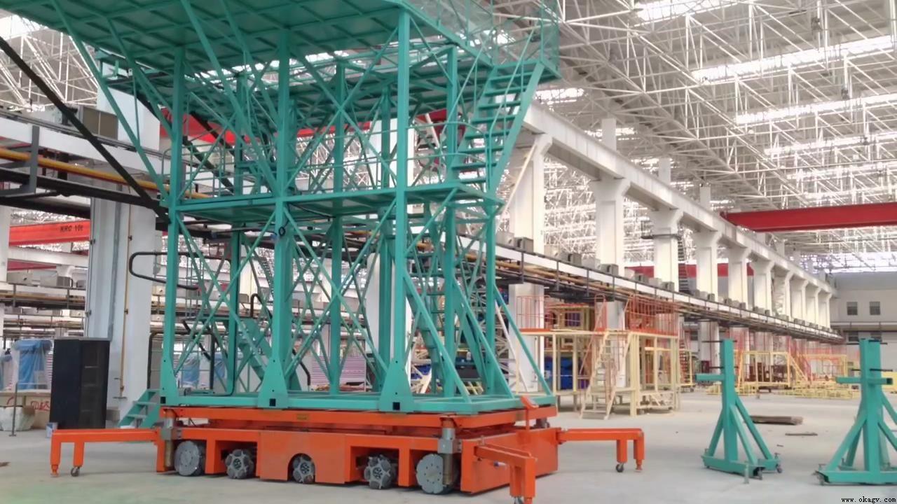欧铠重型大载重15吨AGV